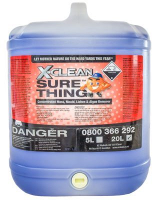 XClean Sure Thing 20L Moss and Mould Killer
