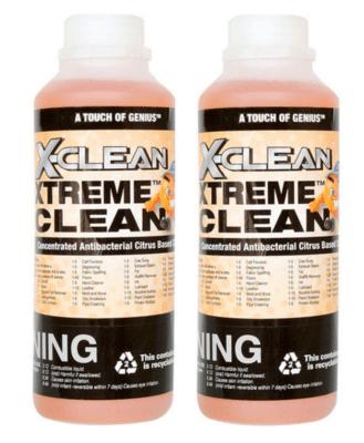 2 x 1L Xclean Xtreme Clean
