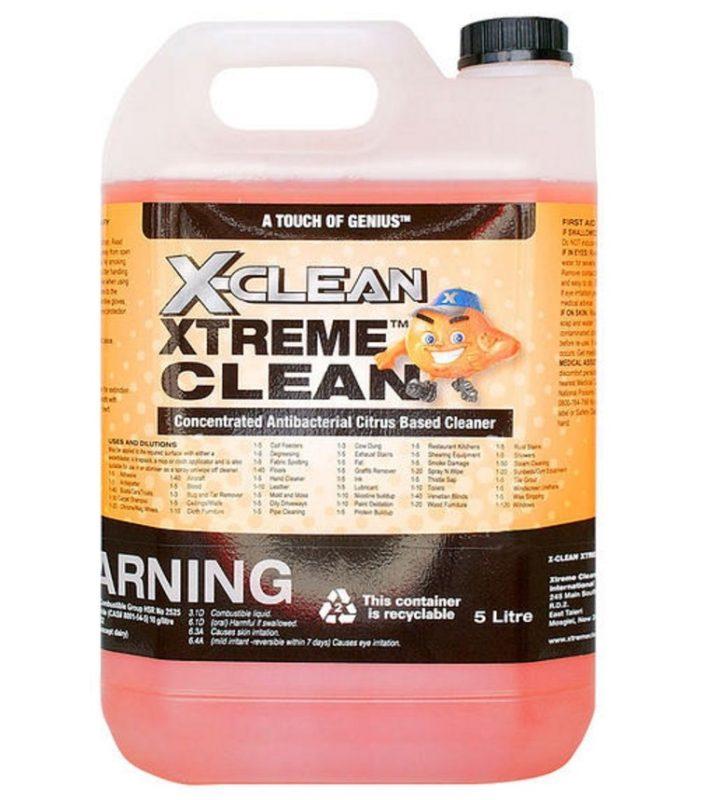 5 Litre Bottle of XClean Xtreme Clean