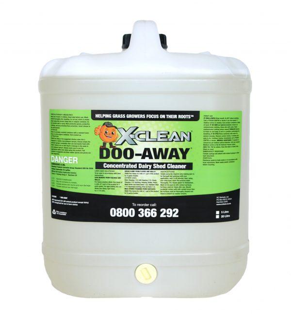X-Clean Doo Away 20 Litre Size
