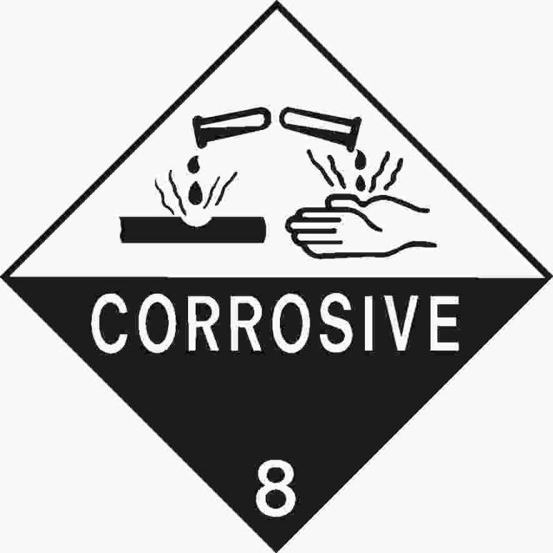 Corrosive 8 Symbol